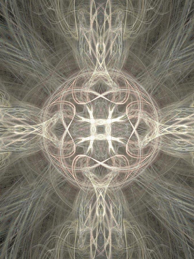 slapp white för kors vektor illustrationer