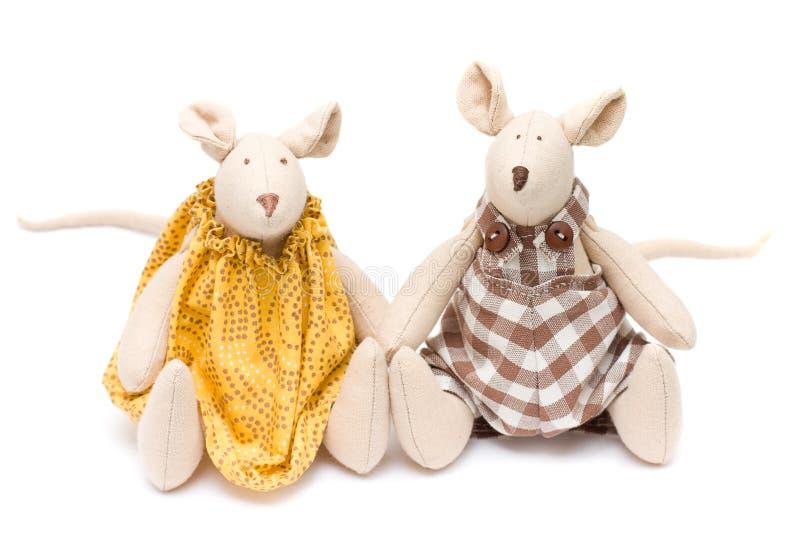 slappa toys för handgjord mus royaltyfria foton