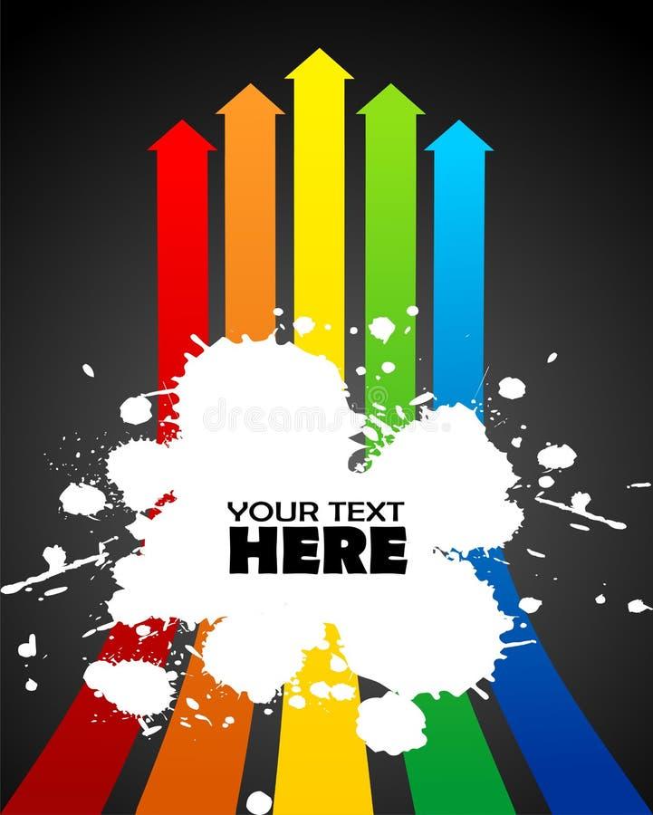Download Slash on arrows stock vector. Illustration of creative - 8592827
