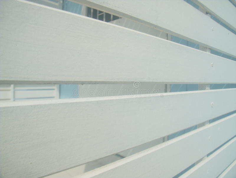 Slat wall. Slat walls for ventilation and can see through royalty free stock photo
