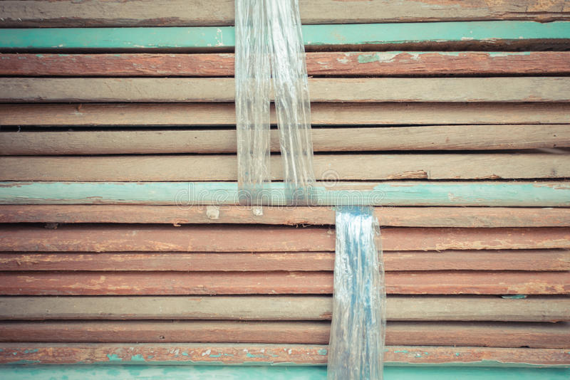 Slat wood for construction royalty free stock image