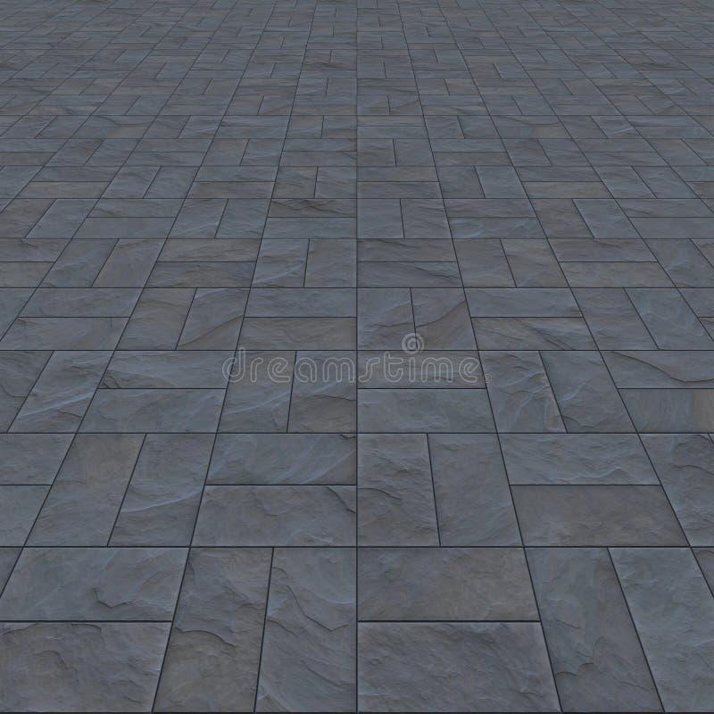 Slate floor background vector illustration
