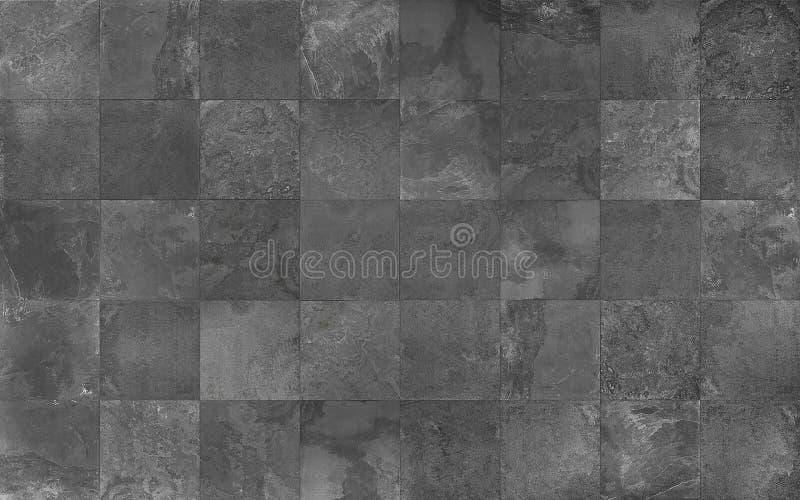 Slate Mosaic Tile Seamless Texture Stock Image Image Of