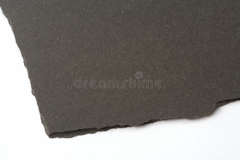 Slate rock with rough broken edge