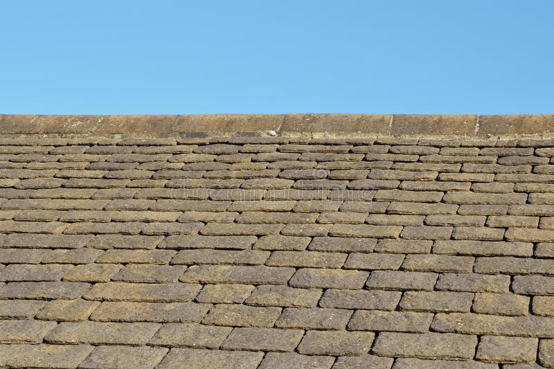 Slate Roof Tiles Royalty Free Stock Images