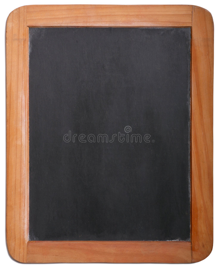 Slate Schule-Tablette lizenzfreie stockbilder