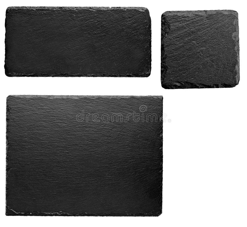 Slate stone plate or board royalty free stock photography