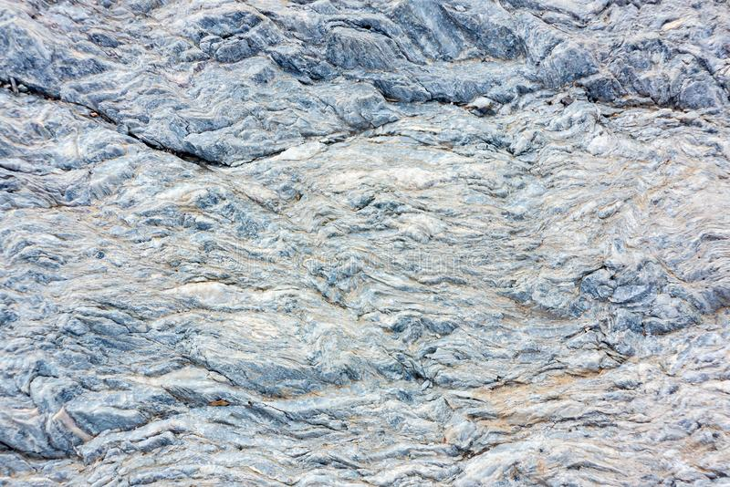 Slate stone surface in the mountains near Muscat, Oman.  stock images