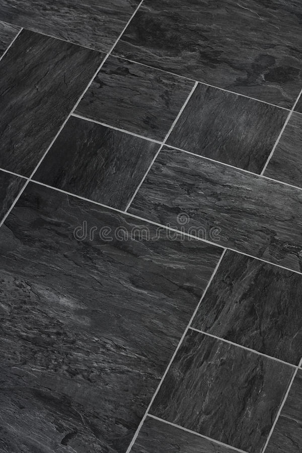 Slate stone textured flooring royalty free stock images