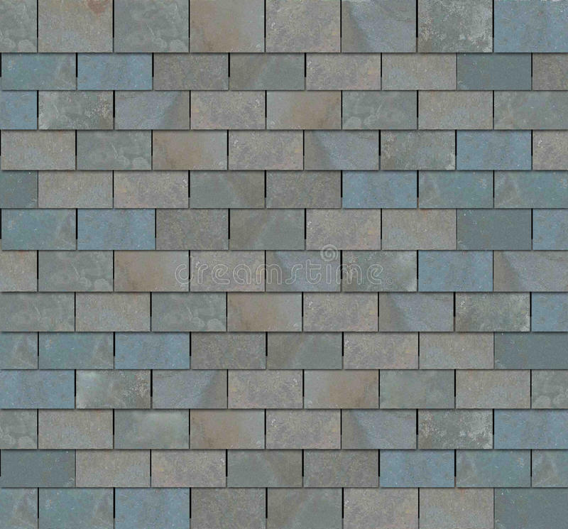 Slate Tile Roof royalty free stock photos