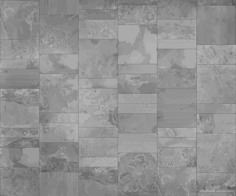 Slate Tile Ceramic, Seamless Texture Displace And Bump Map