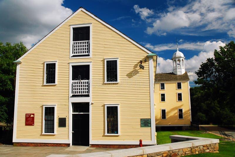Slater Mill, île de Pawtucket Rhode images stock