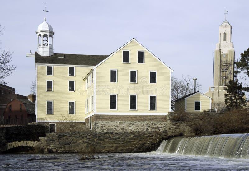 Slater Mill royalty free stock photo
