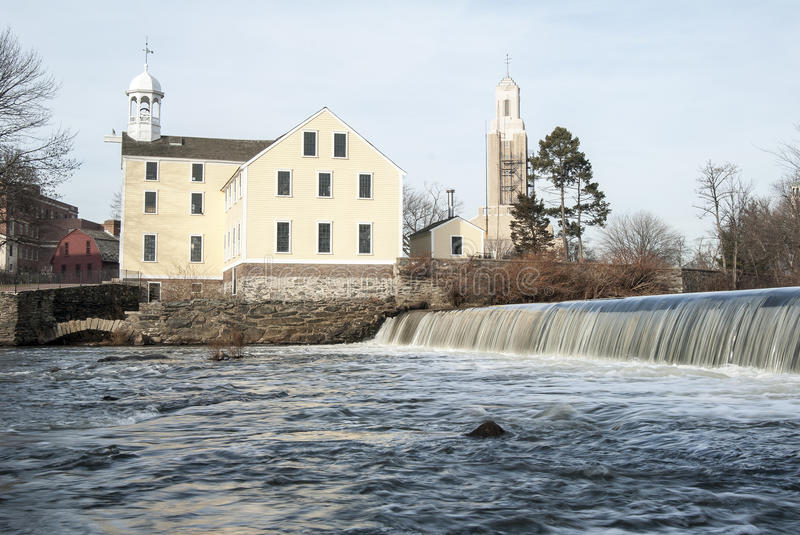 Slater Mill royalty free stock images
