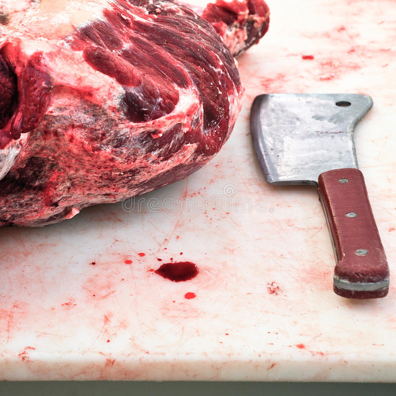 Slaughterhouse royaltyfri foto