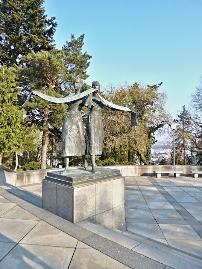 SlavÃn纪念品-雕象 库存图片