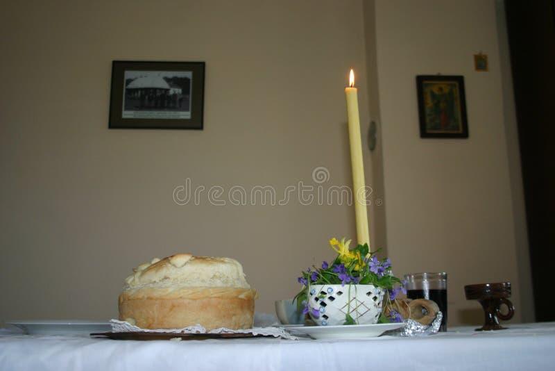 Slava подготовило для почитания St Gabriel стоковое изображение rf