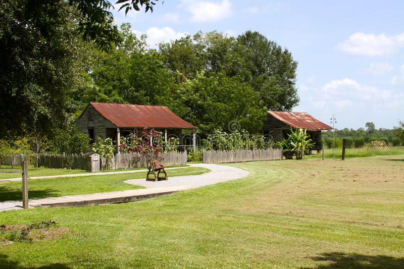Slave Cabins royalty free stock photo
