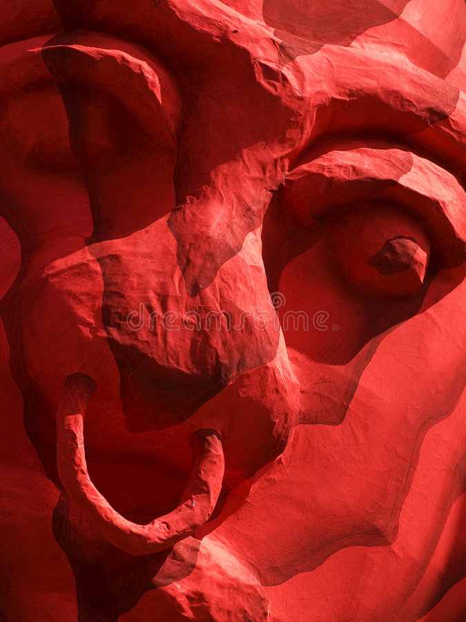 Slavery. Abstract illustration showing face of bygone coloured slave stock photography