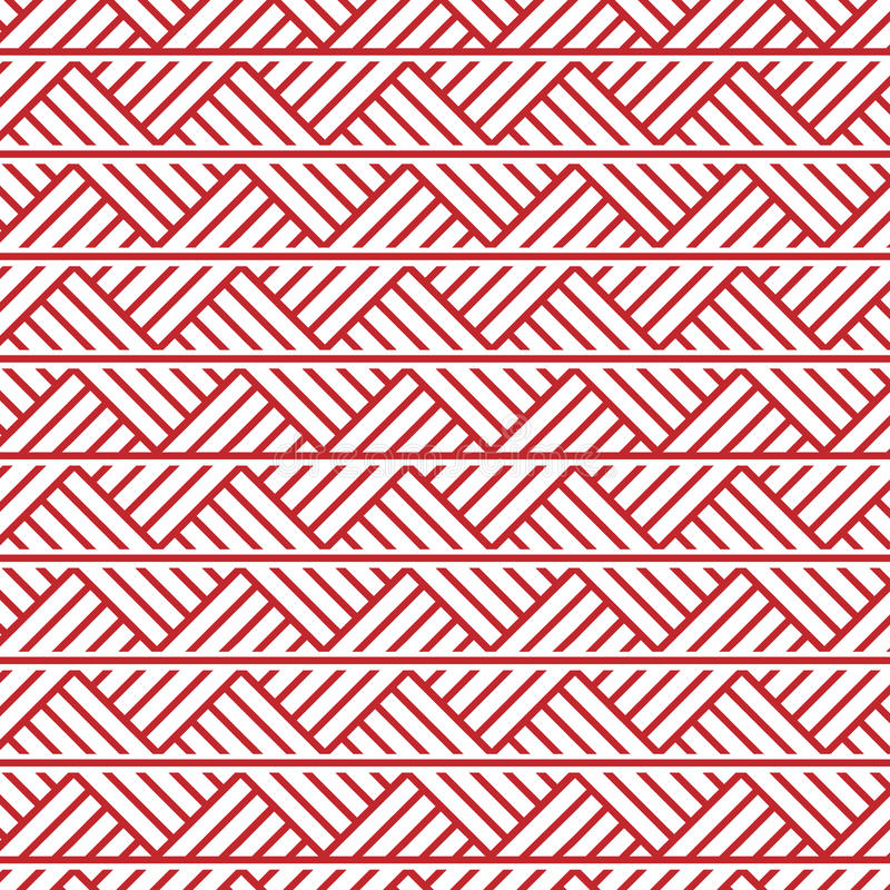 Slavic ornament seamless pattern royalty free illustration