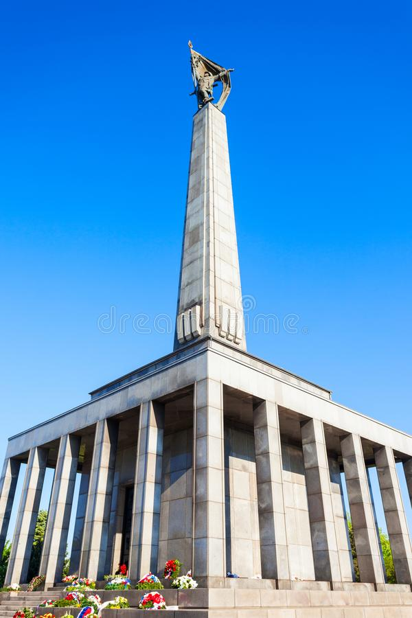 Slavin战争纪念建筑,布拉索夫 库存图片