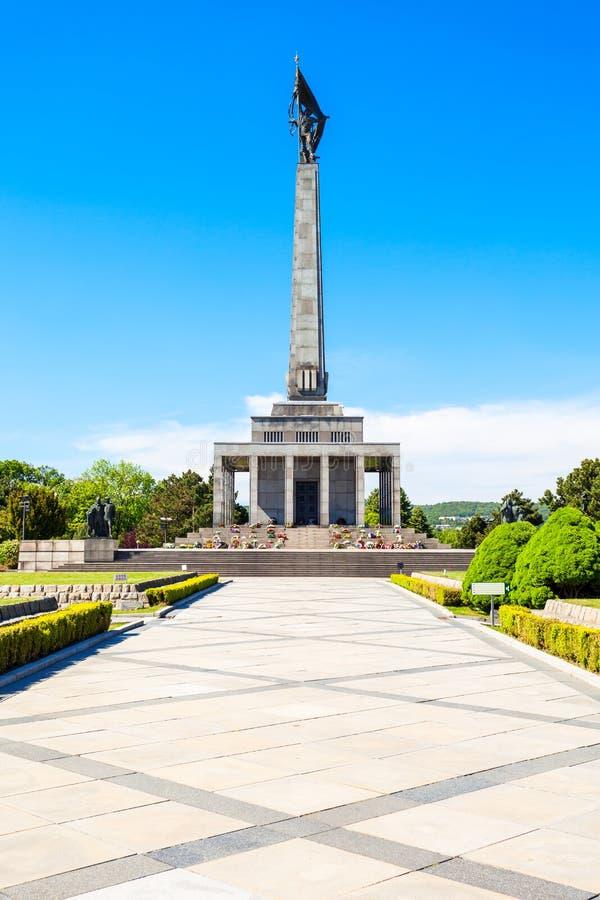 Slavin战争纪念建筑,布拉索夫 免版税库存图片