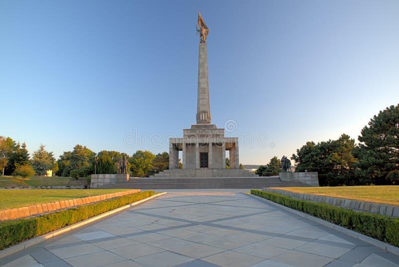 Slavin -纪念纪念碑 库存图片