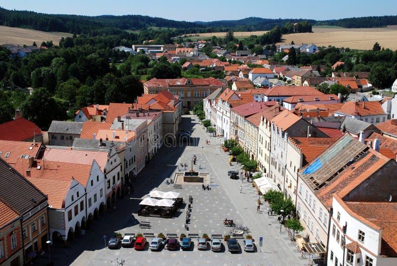 Slavonice Tjeckien arkivbilder