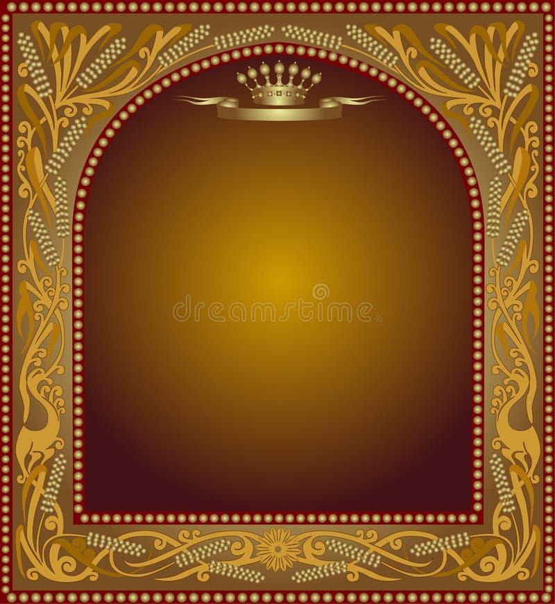 Slavonik frame beer icon advertising