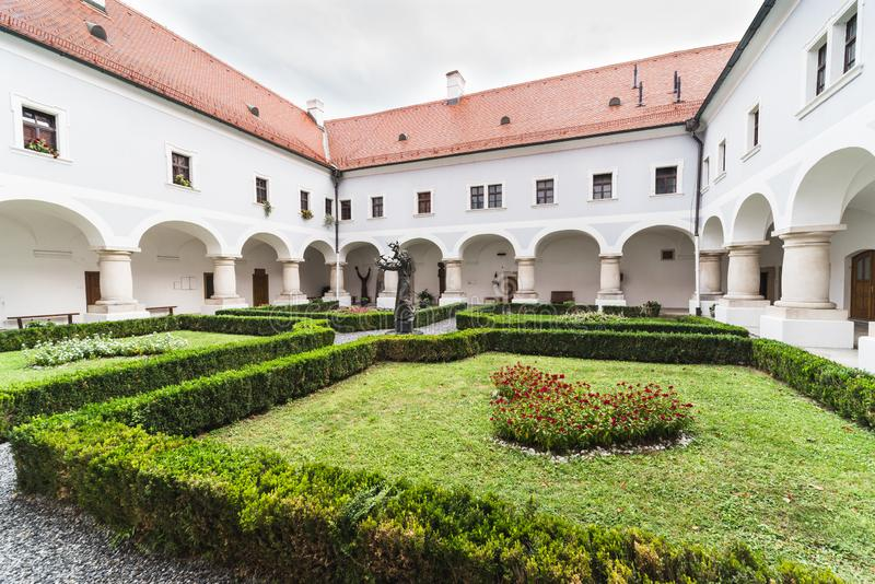 Slavonski Brod,Croatia,Franciscan Monastery of the Holy Trinity stock images