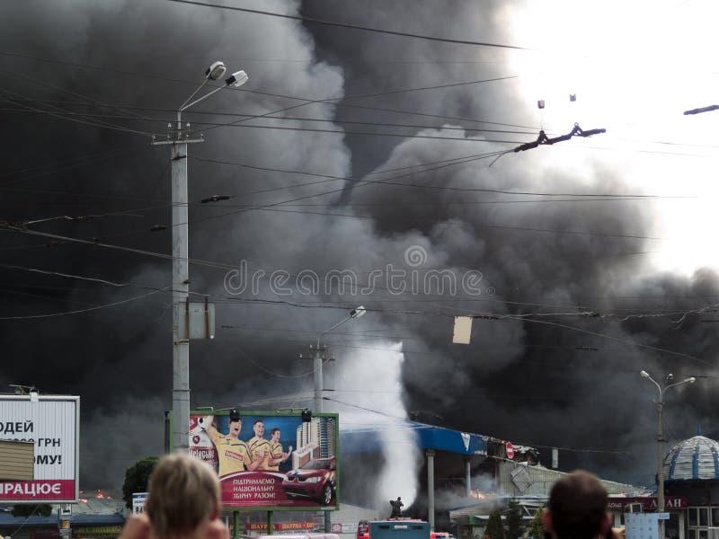 Download Slavyansky Market Explosion In Dnipropetrovsk Editorial Image - Image: 11025335