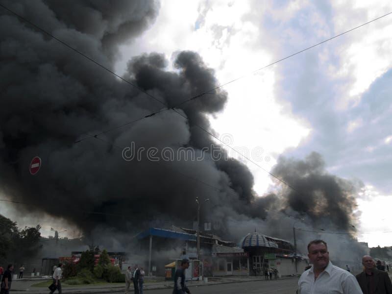Slavyansky market explosion in Dnipropetrovsk