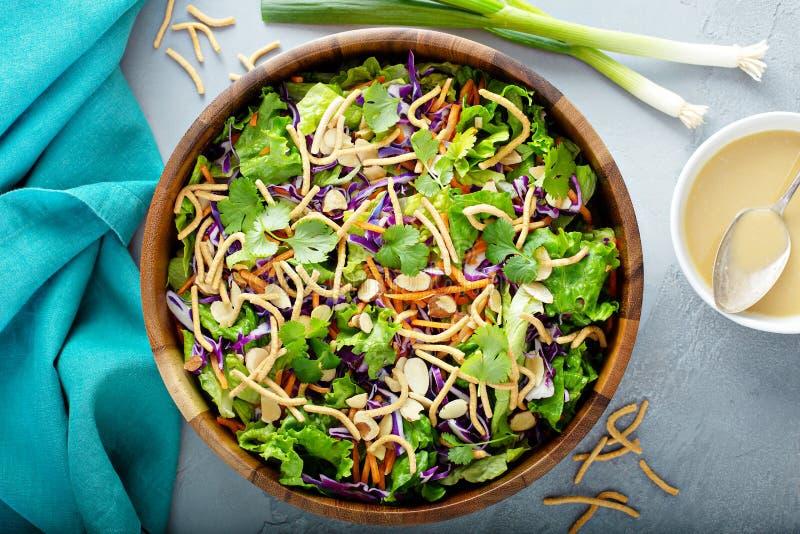 Slaw asiático da salada do estilo imagens de stock