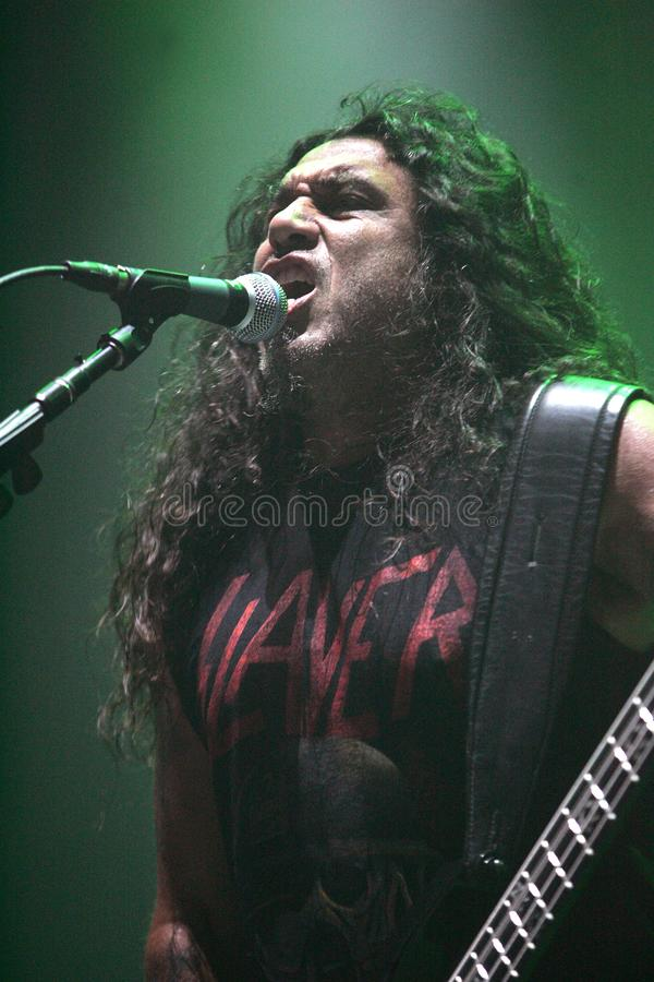 Free Slayer Performs In Concert Royalty Free Stock Image - 134808376