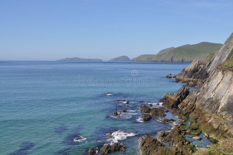 Slea-Kopf im Dingle, Grafschaft Kerry, Irland lizenzfreies stockfoto