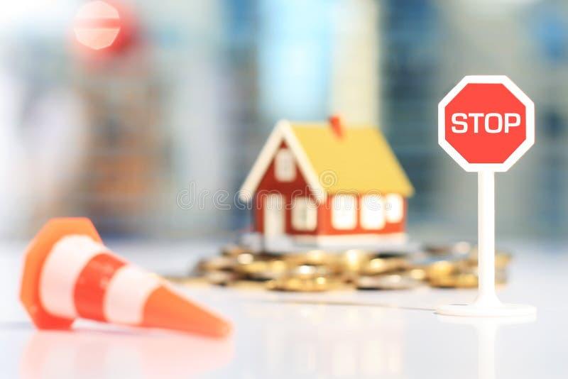 Slecht beleggingsadvies royalty-vrije stock afbeelding