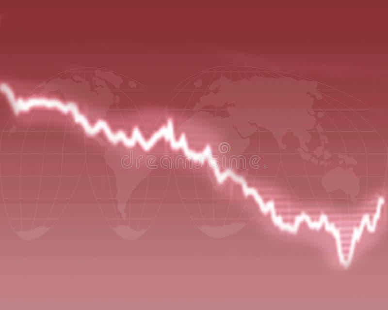 Slechte economie royalty-vrije stock fotografie