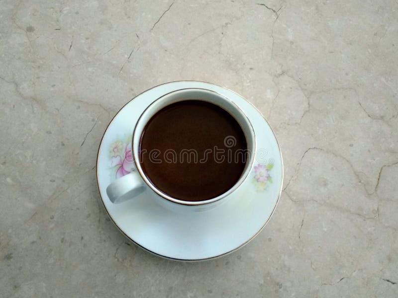 Slechte Ethisch van Zwarte Koffie stock fotografie