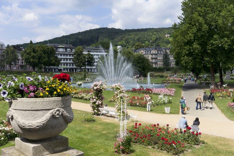 Slechte Kissingen - kuuroordstad royalty-vrije stock afbeelding
