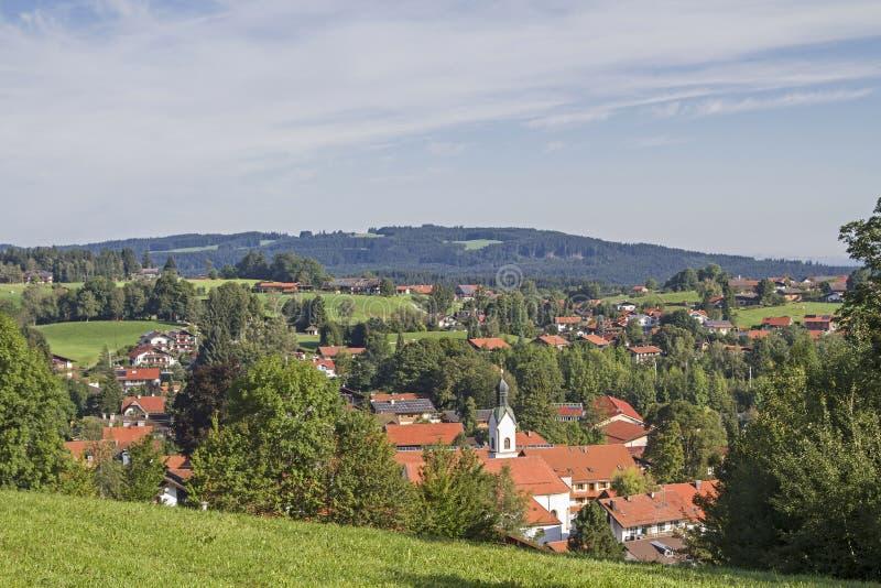 Slechte Kohlgrub in Hoger Beieren stock foto's
