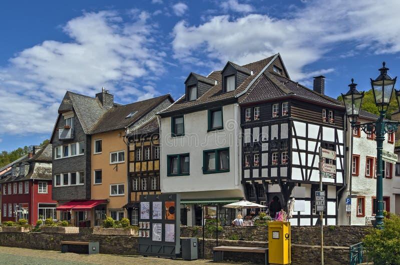 Slechte Munstereifel, Duitsland stock fotografie