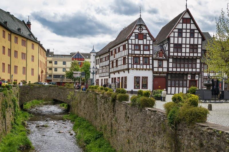 Slechte Munstereifel, Duitsland royalty-vrije stock afbeeldingen