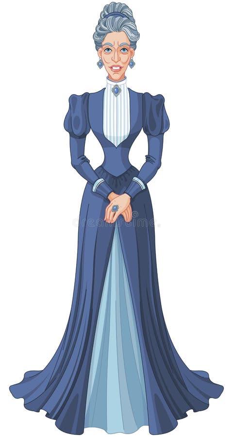 Slechte Stiefmoeder vector illustratie