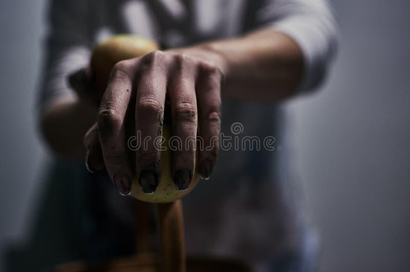 Slechts handen royalty-vrije stock afbeeldingen