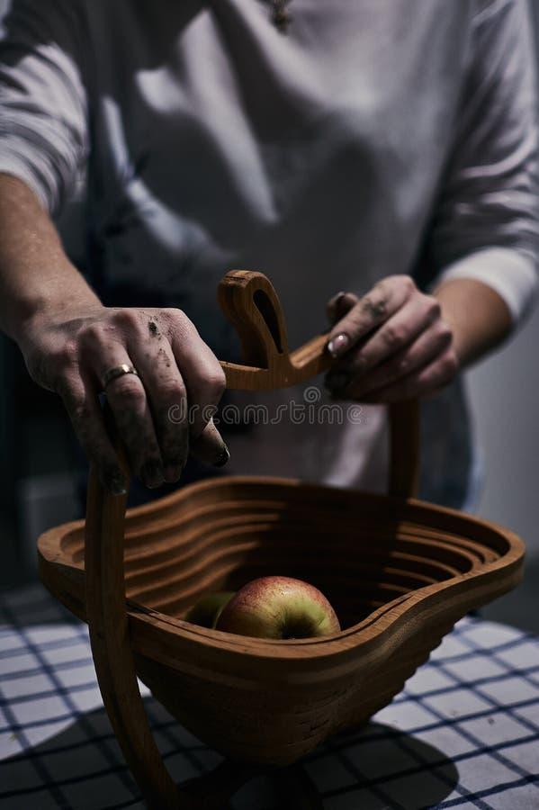 Slechts handen stock afbeelding
