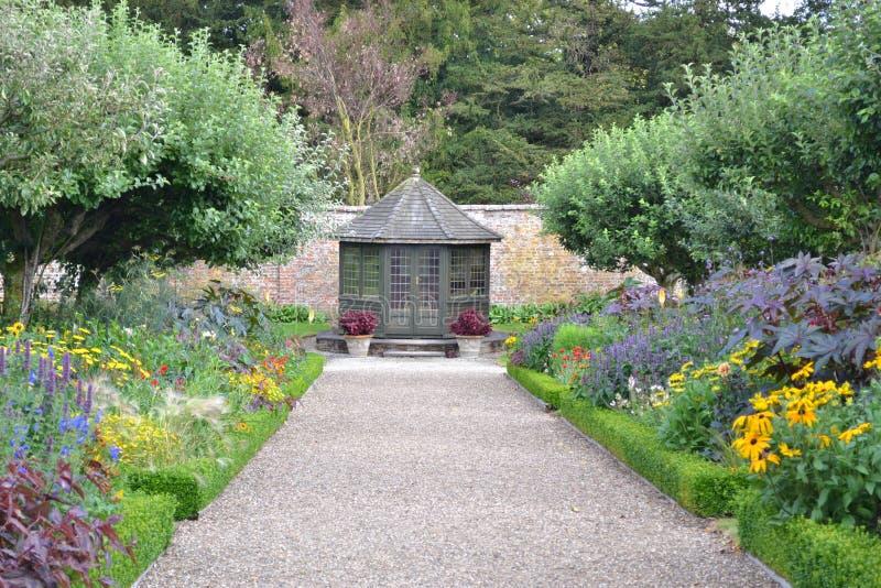 Sledmere House garden royalty free stock photos