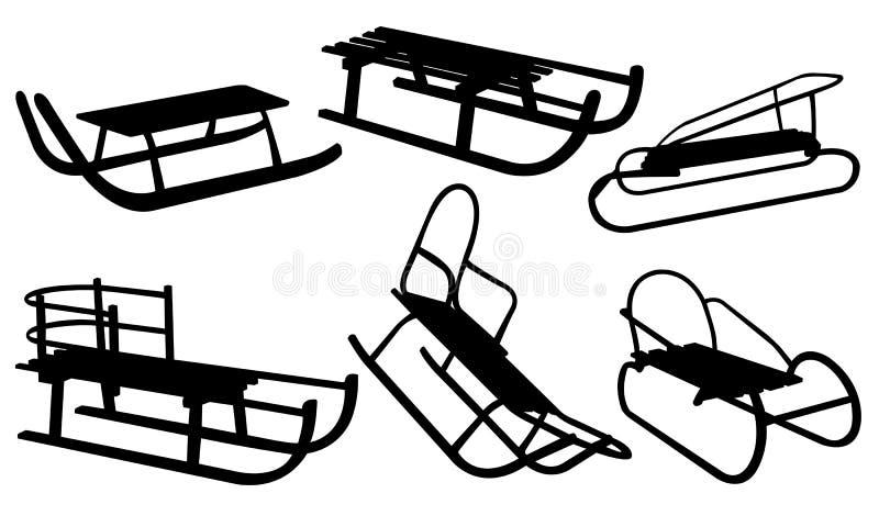 Slee vector illustratie