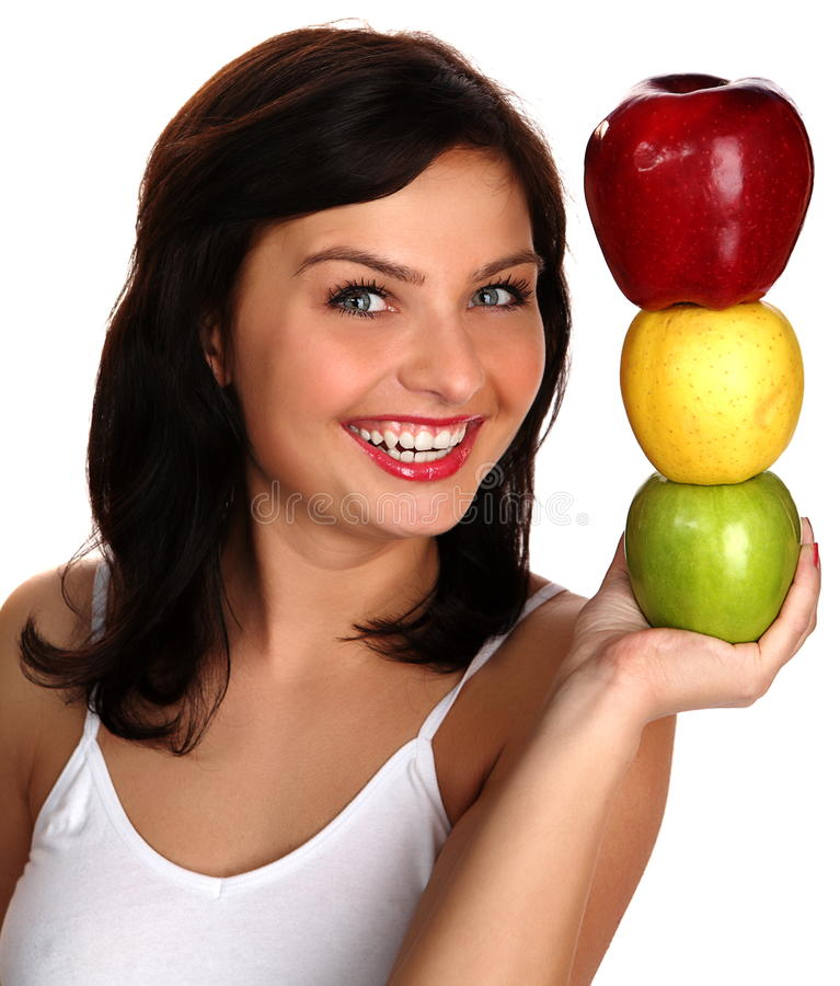 Download Sleek skin stock image. Image of brunette, happiness - 16519953