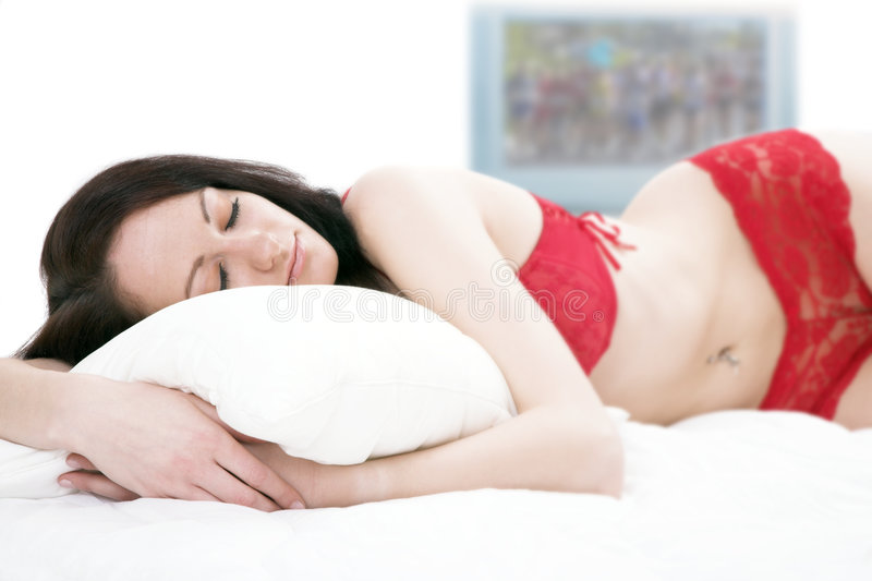 Download Sleep stock photo. Image of napping, white, attractive - 2337414