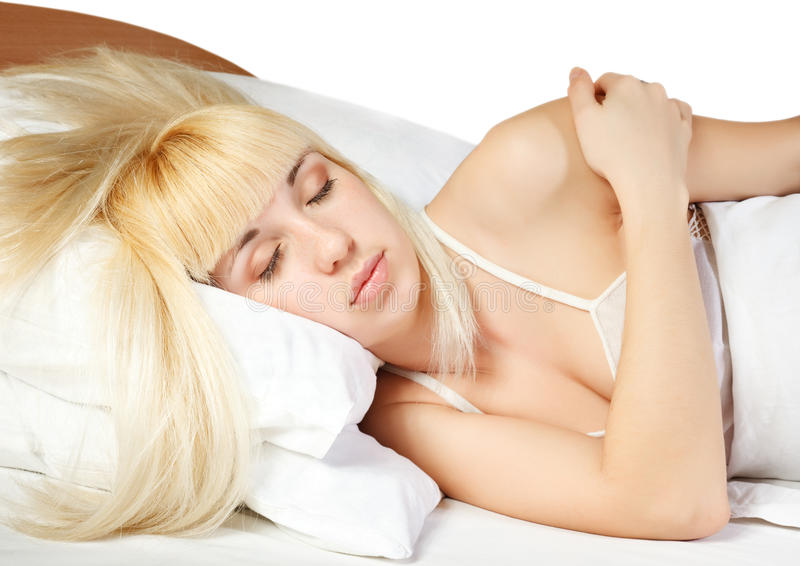 Download Sleep stock image. Image of model, caucasian, woman, face - 9419591